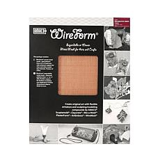AMACO WireForm Copper Woven Decorative Mesh - 8 Mesh 2-Pack