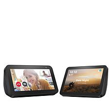 Amazon Echo Show 5 and Echo Show 8 Touchscreen Displays with Alexa