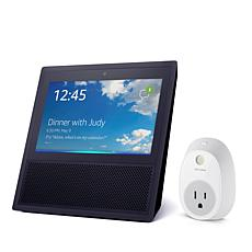 Amazon Echo Show with Touchscreen and TP Link Smart Plug Bundle
