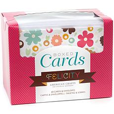 American Crafts Boxed Cards - Felicity