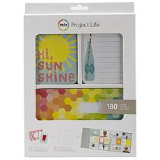 American Crafts Project Life Kit - Hi, Sunshine