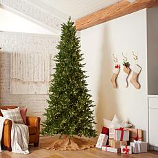 American Tree & Wreath 6.5' Color-Changing Green Starry Alpine Tree