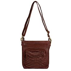 Amsterdam Heritage Oppers Leather Crossbody Bag