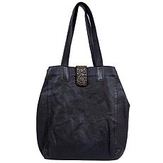 Amsterdam Heritage Pompe Leather Tote