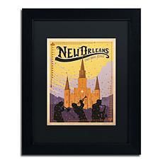"Anderson Design Group ""New Orleans"" Framed Art"