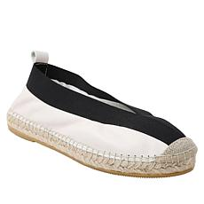 André Assous Lulu Handsewn Leather Espadrille Flat