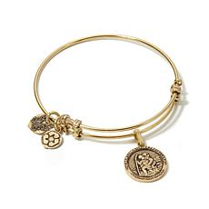 Angelica St. Christopher Slide-Clasp Bangle Bracelet