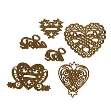 Anna Griffin® All-Heart 6-piece Cut & Embossing Dies II