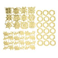 Anna Griffin® Christmas Dresden Trims Embellishments