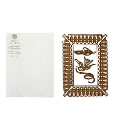 Anna Griffin® For You Fringe Empress Dies and Embossing Folder