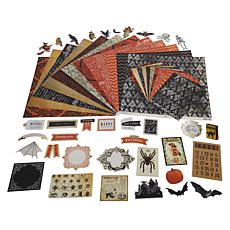 Anna Griffin® Halloween Cardstock and Embellishments Bundle
