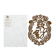 Anna Griffin® Love and Rose Empress Dies and Embossing Folder