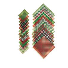 """Anna Griffin® Plaid 5"""" x 7"""" and 12"""" x 12"""" Cardstock Kit"""