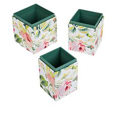 Anna Griffin® Set of 3 Nested Tool Storage Cubes
