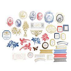 Anna Griffin® Toile Embellishments & Sentiments