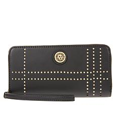 Anne Klein Perforated Wallet