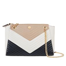 Anne Klein Quilted Colorblock Shoulder Bag