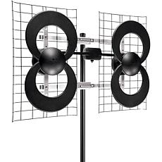 Antennas Direct ClearStream 4 Quad-Loop UHF Outdoor Antenna & J-Mount