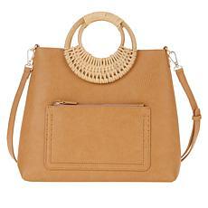 Antik Kraft 2-in-1 Shoulder Bag with Zipper Pouch