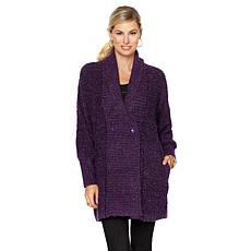 """Antthony """"Cuddly with Pizazz"""" Bishop-Sleeve Sweater"""