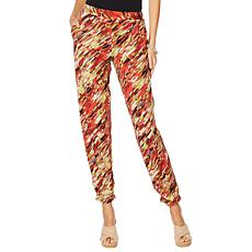 "Antthony ""Culturally Styled"" Printed Pull-On Pant"