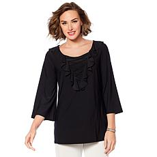 "Antthony ""Dance in Color"" Ruffle Top"