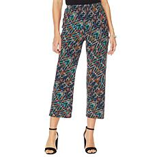 """Antthony """"Electric Color"""" 2-pack Solid/Print Cropped Pant"""