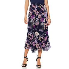 "Antthony ""Mysterious Lady"" Printed Chiffon Skirt"