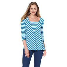 "Antthony ""Nantucket"" Long-Sleeve Striped Top"