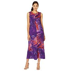 Antthony Printed Maxi Tank Dress