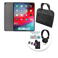 "Apple 2018 iPad Pro® 12.9"" 256GB Space Gray Tablet w/Bag & Accessories"