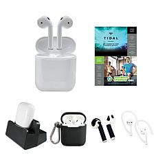 Apple AirPods 2nd Gen. Earbuds with Software Suite and Accessories