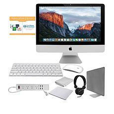 "Apple iMac® 21"" Quad-Core i5 3.0GHz 8GB RAM, 1TB HDD PC Bundle"