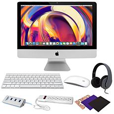"""Apple iMac® 21.5"""" 6-Core Intel i5 8GB RAM/1TB HDD Desktop"""