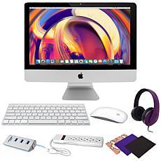 """Apple iMac® 21.5"""" Intel Core i3 8GB RAM/1TB HDD Desktop w/Accessories"""