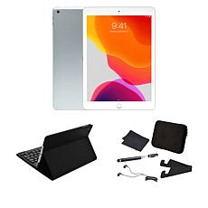 "Apple iPad® 10.2"" 128GB Tablet with Keyboard Case and Neoprene Sleeve"