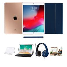 "Apple iPad® 10.2"" Gold 128GB with Voucher, Keyboard and Headphones"