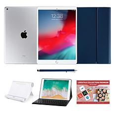 "Apple iPad® 10.2"" Silver 32GB with Bluetooth Keyboard Case"