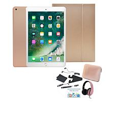 "Apple iPad® 9.7"" 32GB Tablet with Keyboard Case and Headphones"