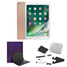 "Apple iPad® 9.7"" 32GB Wi-Fi Tablet w/Bluetooth Keyboard & Accessories"