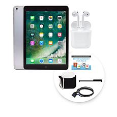 "Apple iPad® 9.7"" 32GB Wi-Fi Tablet with AirPods"