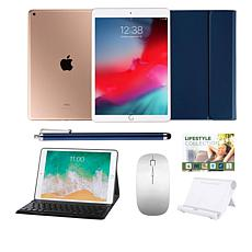 """Apple iPad Air 10.5"""" Gold 64GB Wi-Fi Tablet with Bluetooth Mouse"""