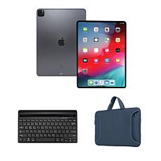 """Apple iPad Pro® 11"""" 128GB Tablet with Bluetooth Keyboard and Case"""