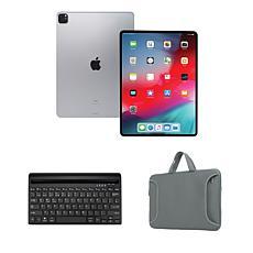 "Apple iPad Pro® 11"" 1TB Cellular Tablet w/Bluetooth Keyboard & Case"