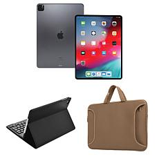 """Apple iPad Pro® 11"""" 1TB Tablet with Bluetooth Keyboard and Case"""