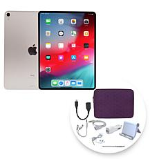 """Apple iPad Pro® 11"""" 64GB Tablet with Zippered Case and Accessories"""