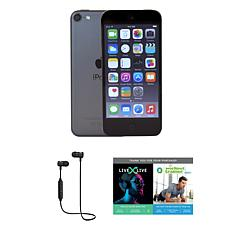 Apple iPod Touch 7th Gen 32GB with Software Suite & Bluetooth Earbuds