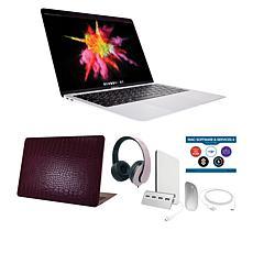 """Apple MacBook Air 13"""" M1 8GB RAM 256GB SSD Silver Laptop Bundle"""