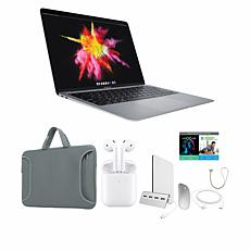 """Apple MacBook Air 13"""" M1 Laptop in Space Gray w/Case and Apple AirPods"""