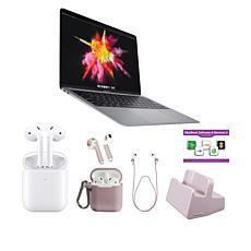 "Apple MacBook Air 2020 13"" Intel Laptop in Space Gray w/Apple Airpods"